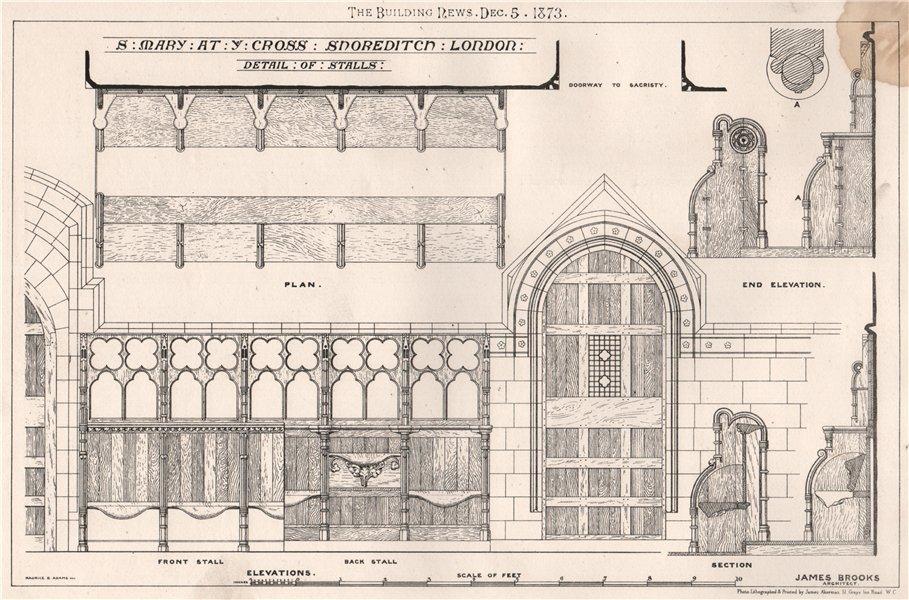 Associate Product St. Mary at ye Cross Shoreditch. London; James Brooks, Architect (2) 1873