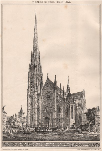 Associate Product Church of our Lady & St. Philip, Arundel, built for the Duke of Norfolk 1874