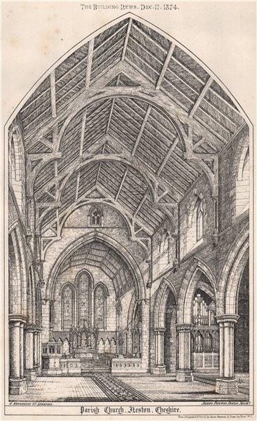 Associate Product Parish Church Neston, Cheshire; James Francis Doyle, Architect [interior] 1874