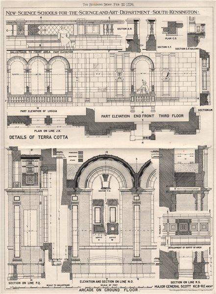 Associate Product Science Schools, Science & Art Department. South Kensington; Maj-Gen Scott 1876