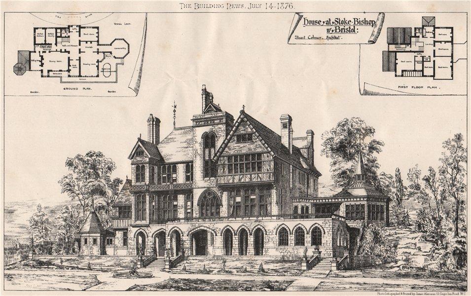 Associate Product House, Stoke Bishop, Bristol; Stuart Colman Architect. Gloucestershire 1876