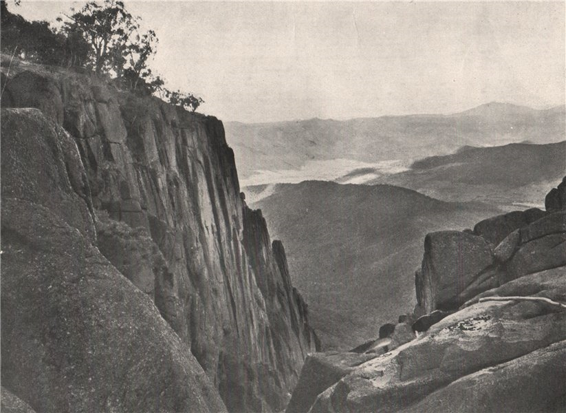 Associate Product Buffalo Mountains. View from South side of the Gorge. Victoria, Australia. 1908