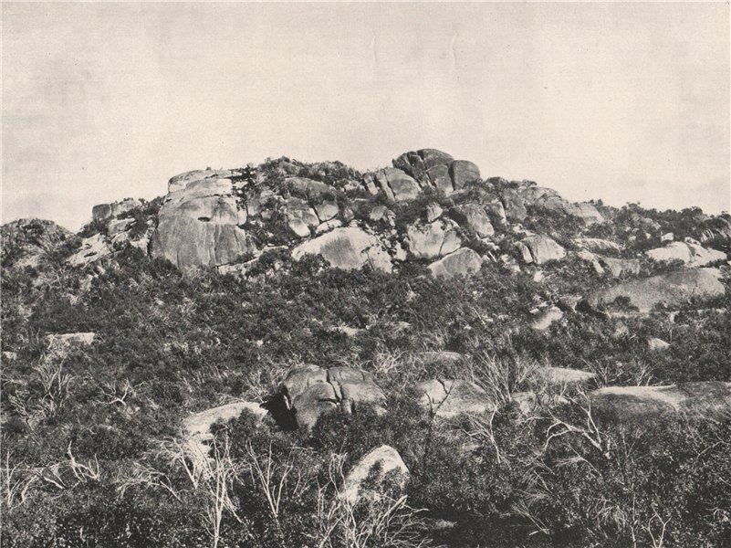 Associate Product Buffalo Mountains. Le Souef's Peak looking West. Victoria, Australia. 1908
