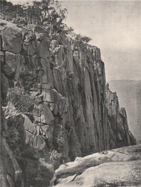 Associate Product Buffalo Mountains. North side of gorge looking NE. Victoria, Australia 1908