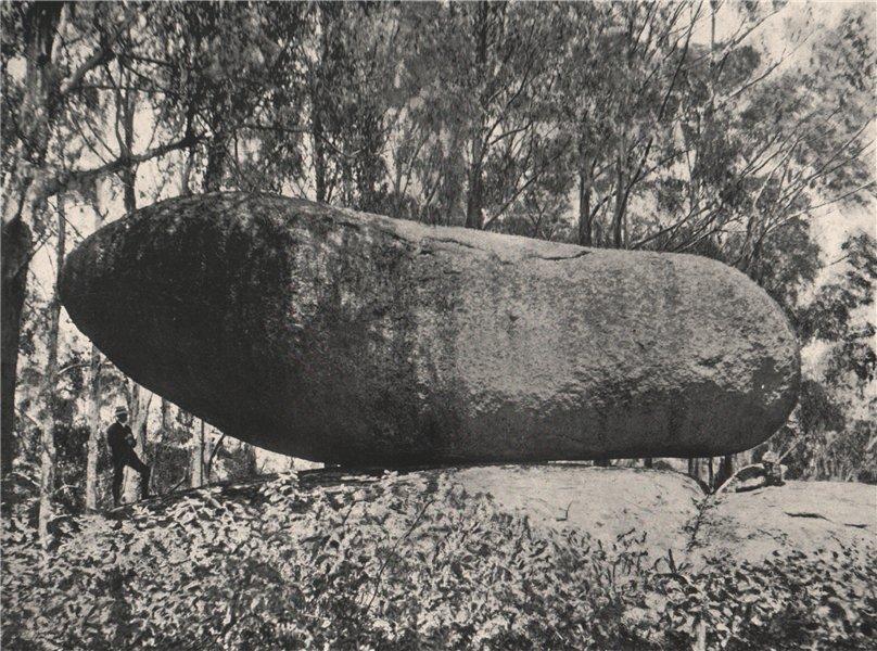 Associate Product Buffalo Mountains. The Torpedo looking South. Victoria, Australia. 1908 print