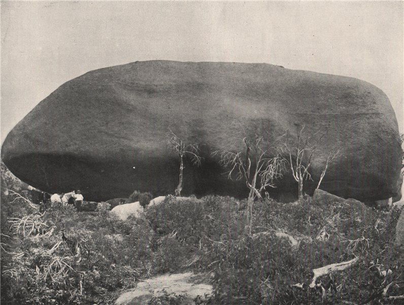 Associate Product Buffalo Mountains. The Leviathan. Victoria, Australia. 1908 old antique print
