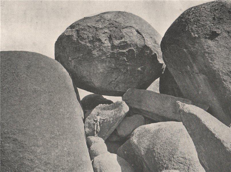 Associate Product Buffalo Mountains. Mahomet's Coffin. Victoria, Australia. 1908 old print