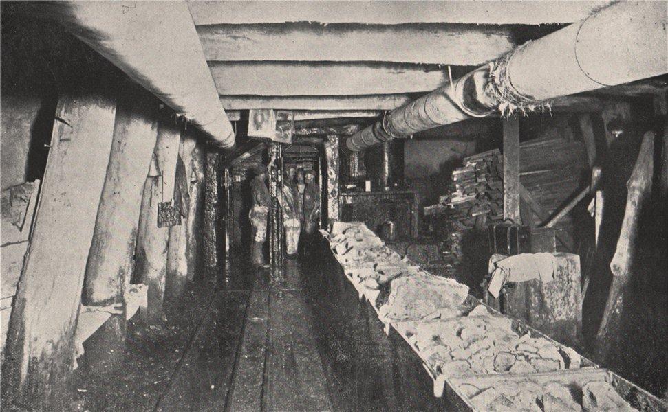 Associate Product Plat, shaft bottom, Chalk's No. 1 Mine Maryborough Victoria Australia 1909