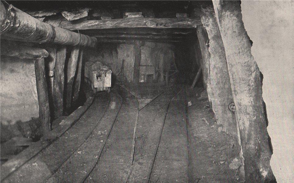 Associate Product Reef/Branch Drives, Chalk's No. 1 Mine, Maryborough. Victoria, Australia 1909