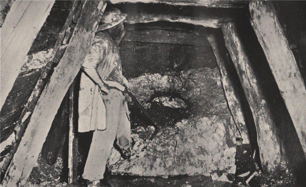 Associate Product Wash-Dirt, Chalk's No. 1 Mine, Maryborough. Victoria, Australia. Mining 1909
