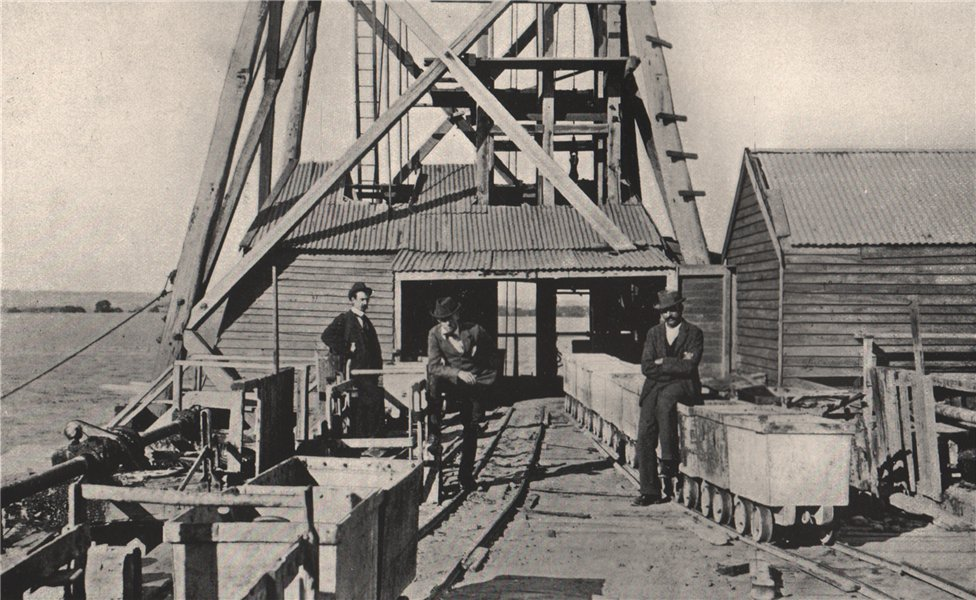 Associate Product Truck Road to Puddlers, Chalk's No. 1 Mine, Maryborough Victoria, Australia 1909