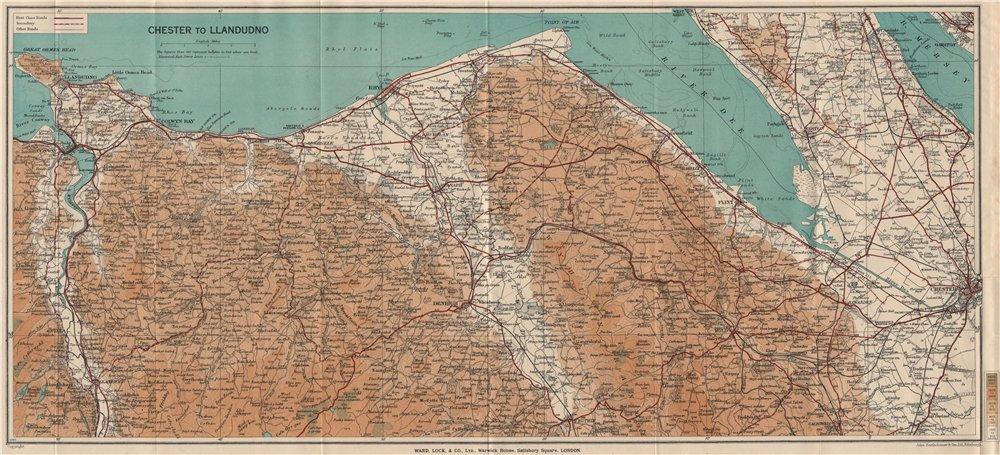 NORTH WALES COAST ChesterLlandudno Denbigh Rhyl Deeside WARD