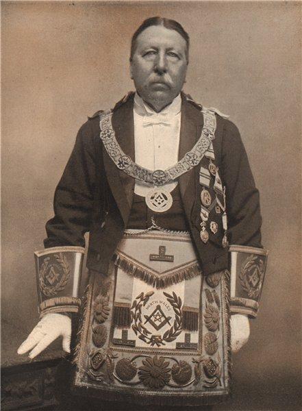 Associate Product FREEMASONRY. Col. H. Platt, C.B. Provincial Grand Master of North Wales 1882