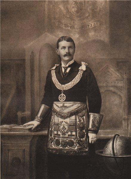 Associate Product FREEMASONRY. F.S.W. Cornwallis, Provincial Grand Master of County of Kent 1882