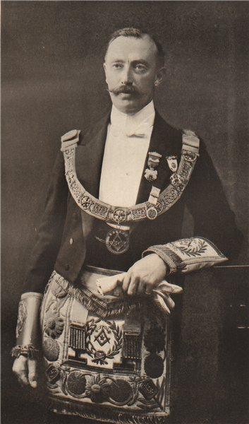 Associate Product FREEMASONRY. The Earl of Stradbroke, Provincial Grand Master of Suffolk 1882