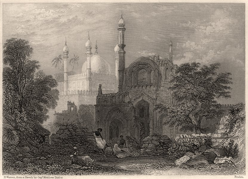 Associate Product Tomb of Hazrath Dada Hayath Meer Khalandar, Mangrol. Thugees. Sufism 1840