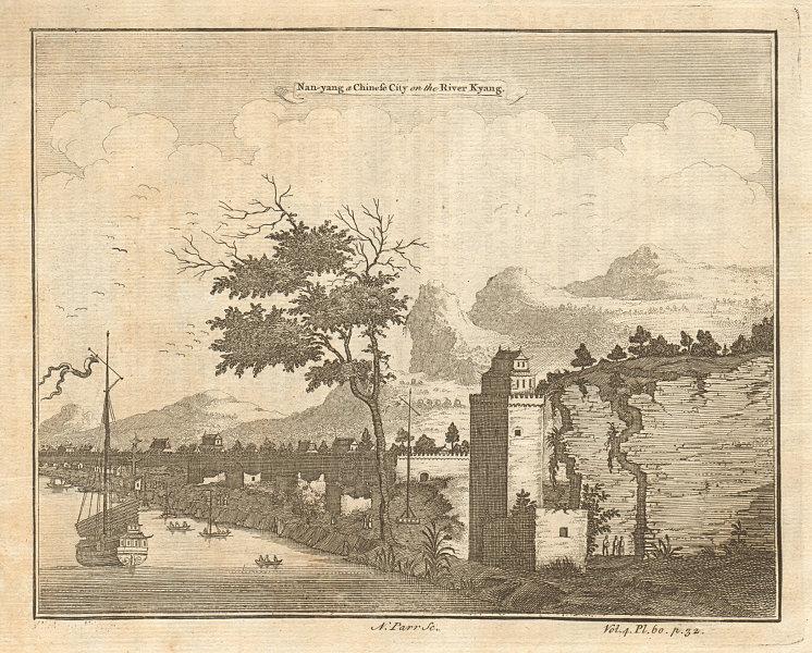 Associate Product CHINA. Nan Yang [NANCHANG], on the River Kyang [Gan]. PARR 1746 old print