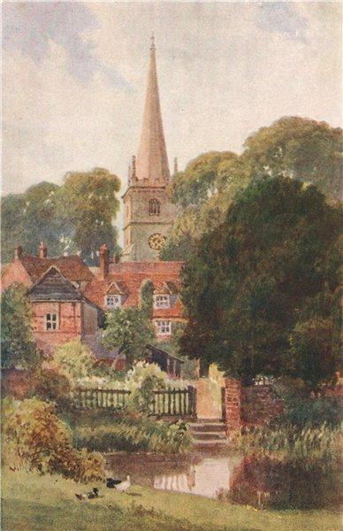 Associate Product Buckingham, Buckinghamshire, by Harold Sutton Palmer 1929 vintage print