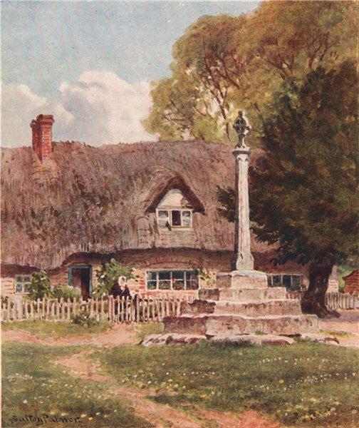 Associate Product In a Berkshire Village, Berkshire, by Harold Sutton Palmer 1929 print