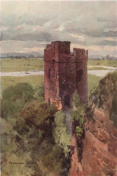 Associate Product The Water Tower. Welsh hills in distance, Chester. Edward Harrison Compton 1910