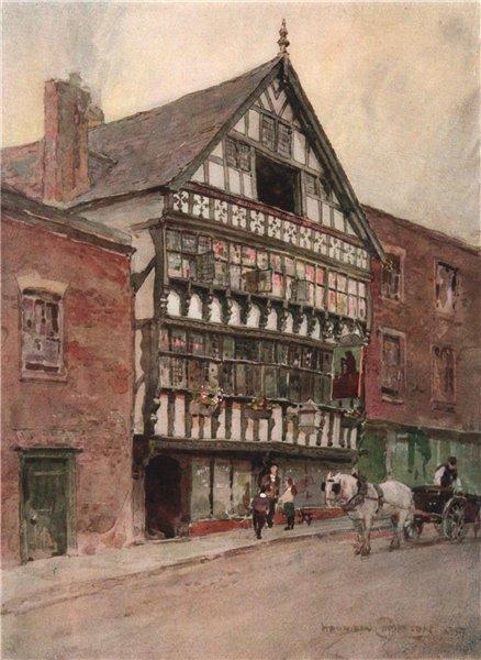 "Associate Product Shrewsbury House (The ""Bear & Billet""), Chester, by Edward Harrison Compton 1910"