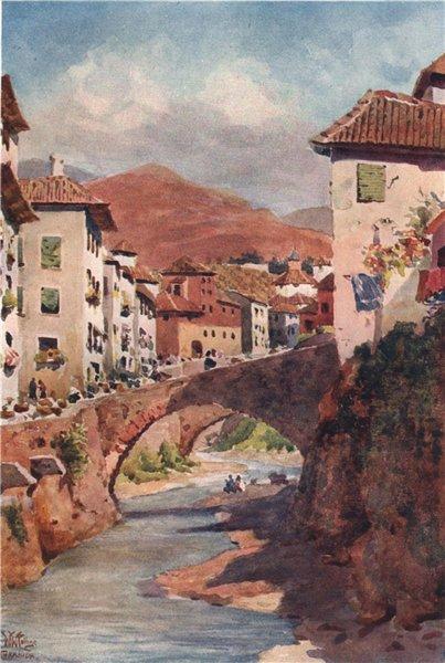 Associate Product Carrera de Darro, Granada, Spain, by William Wiehe Collins 1909 old print