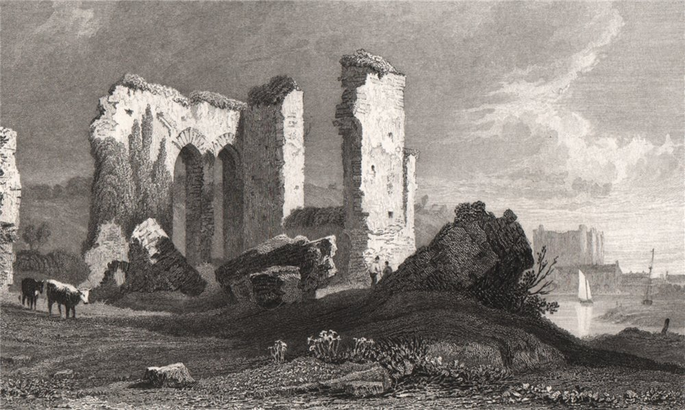 Associate Product Remains of the Priory, Haverfordwest, Pembrokeshire, by Henry Gastineau 1835