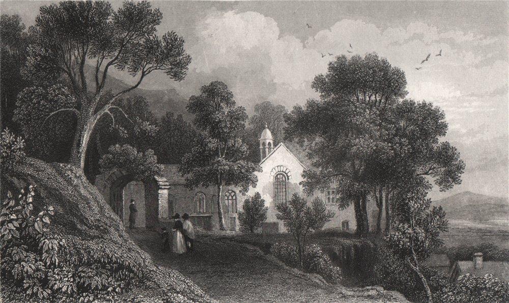 Associate Product Llanfihangel Genau'r Glynn (Llandre) Cardiganshire, by Henry Gastineau 1835