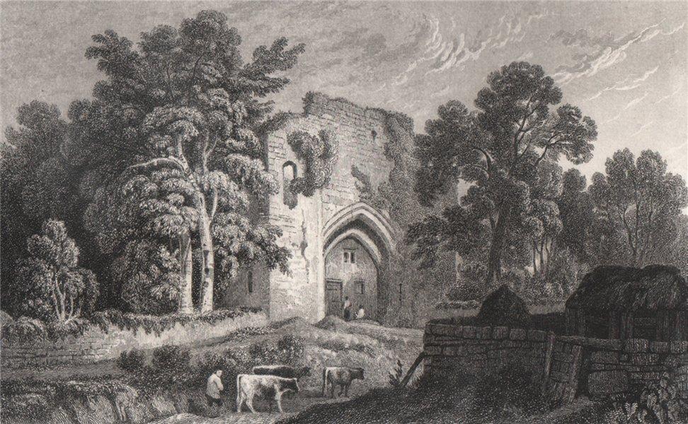 Associate Product St. Quintin's Castle near Cowbridge, Glamorganshire, by Henry Gastineau 1835