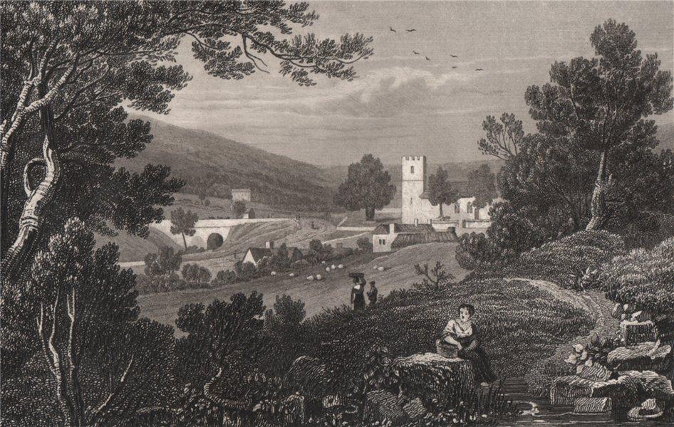 Associate Product Aberystwyth, or Blaenau Gwent, Monmouthshire, Wales, by Henry Gastineau 1835