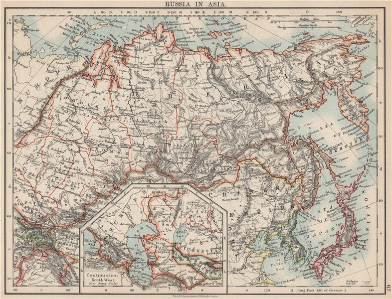 Details about RUSSIA IN ASIA. Shows Trans-Siberian railway under construction on northern europe map, bosnia map, south america map, baikal amur mainline, wales map, st thomas map, arctic ocean map, trans-siberian railway panorama, west siberian railway, brazil map, republic of georgia map, india map, orient express, cyprus map, central asia map, south africa map, central europe map, saint petersburg, ural mountains map, west africa map, greenland map, moscow map, caribbean cruise map, caucasus mountains map, russia map,