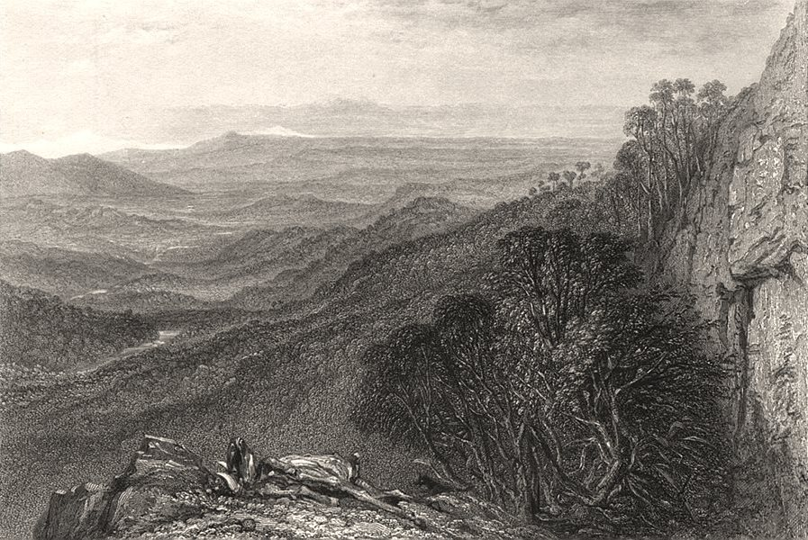 """Associate Product """"Valley of The Goulbourn [Goulburn], Victoria"""", by BOOTH/PROUT. Australia c1874"""
