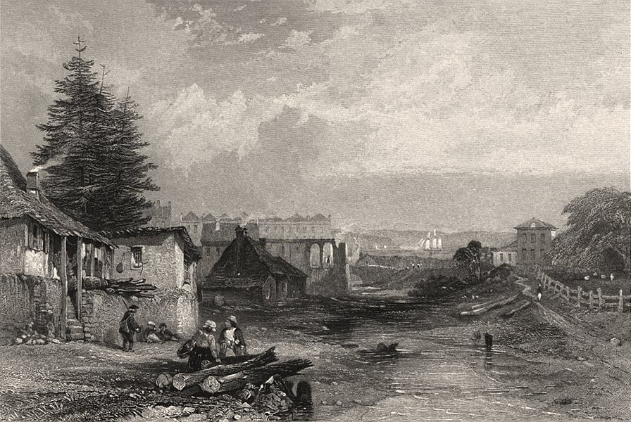 """Associate Product """"The Old Tank Stream, Sydney"""", by E.C. BOOTH/J.S. PROUT. NSW, Australia c1874"""
