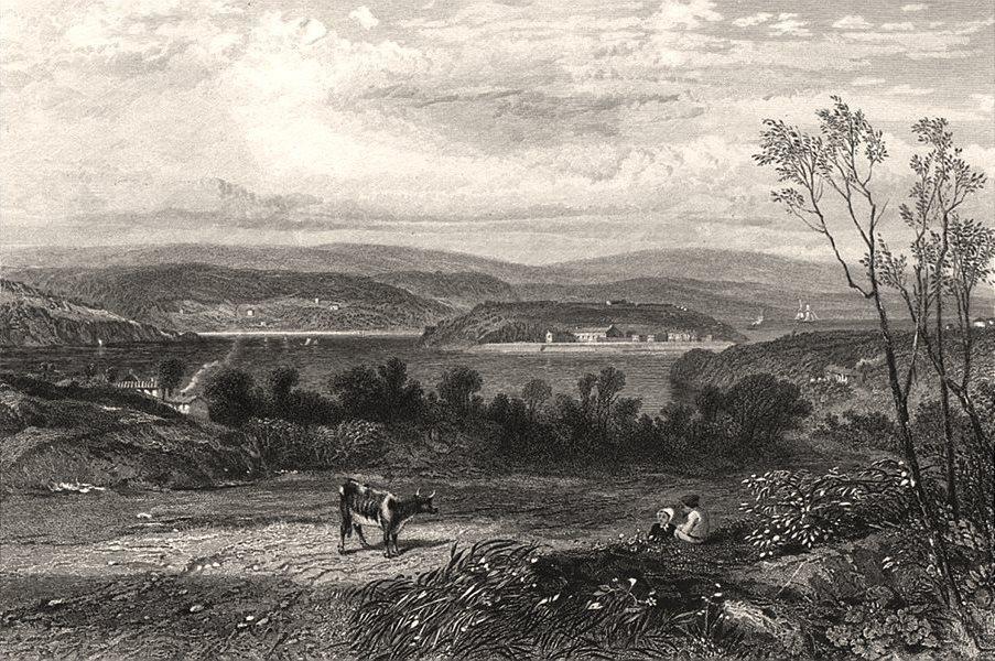 "Associate Product ""Goat Island"", Sydney, by E.C. BOOTH/John Skinner PROUT. NSW, Australia c1874"