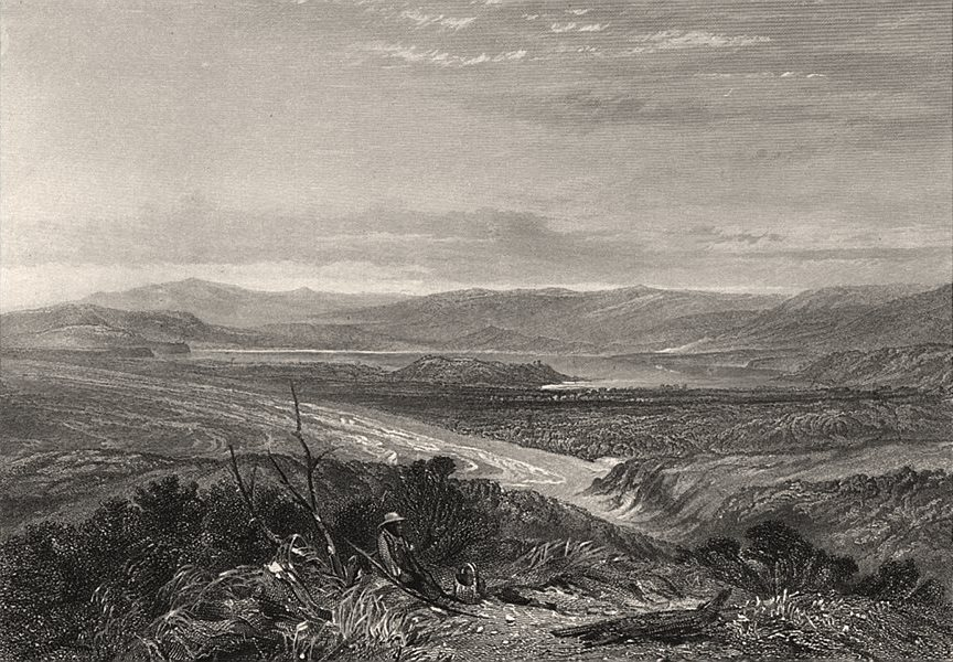 """Associate Product """"Lake Illawarra, New South Wales"""" by E.C. BOOTH/J.S. PROUT. NSW, Australia c1874"""