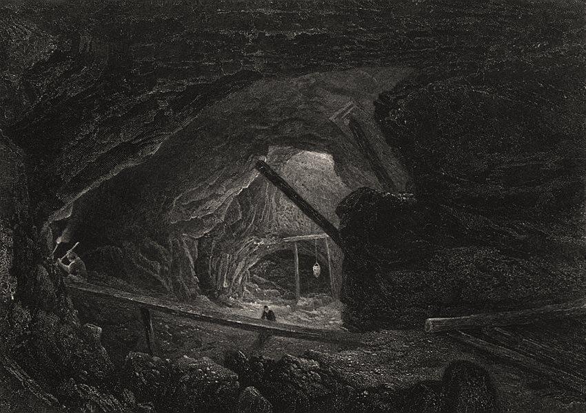 "Associate Product ""The Burra Burra Copper Mines"", by E.C. BOOTH/J.S. PROUT. South Australia c1874"