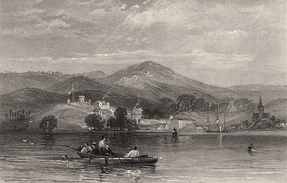 "Associate Product ""Port Arthur, Tasmania"". Edwin Carton BOOTH/John Skinner PROUT. Australia c1874"
