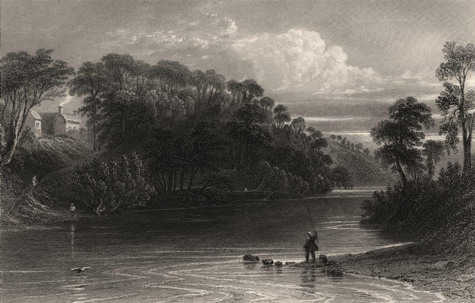 Associate Product Ellisland, Dumfries & Galloway. Robert Burns. Scotland. BARTLETT c1840 print