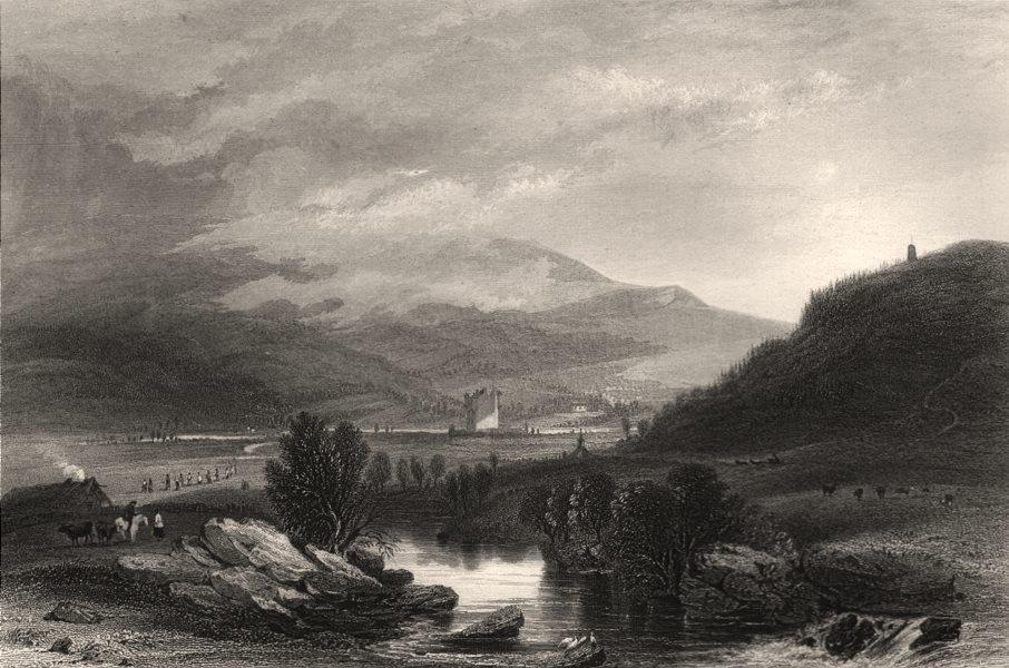 Associate Product Braemar Castle. Aberdeenshire. Scotland. CAMPION c1840 old antique print