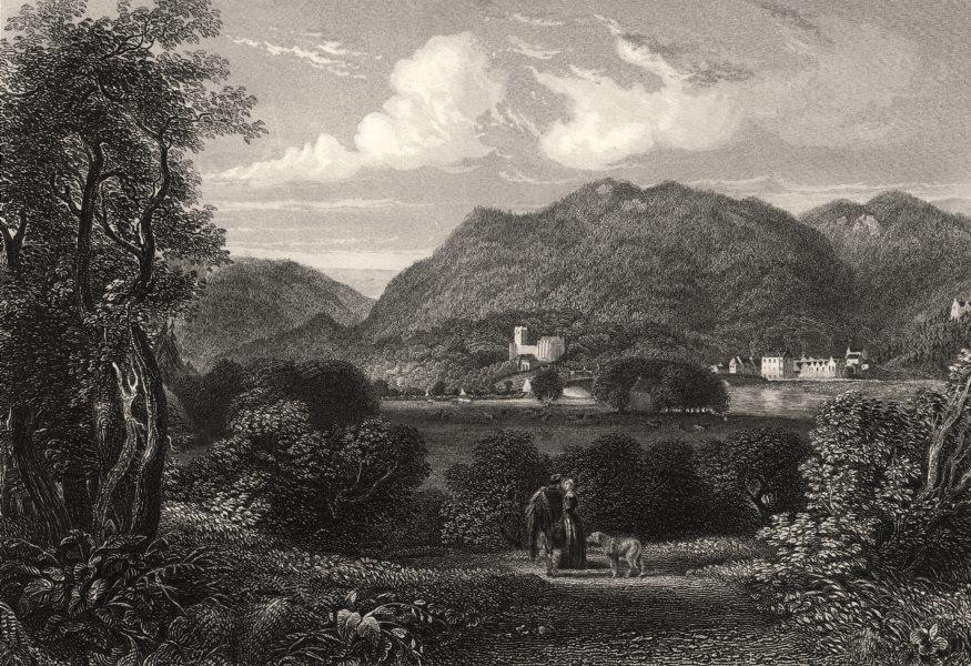 Associate Product Dunkeld from Torr Hill, Perth & Kinross. Scotland. BROWN 1868 old print