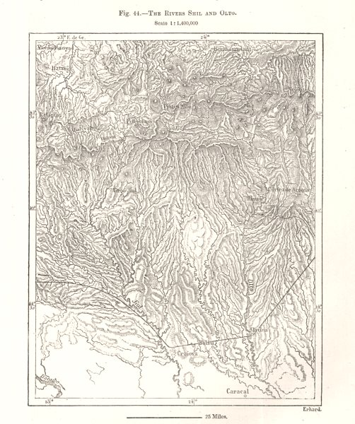 Associate Product The Rivers Shil and Olto. Romania. Sketch map 1885 old antique plan chart