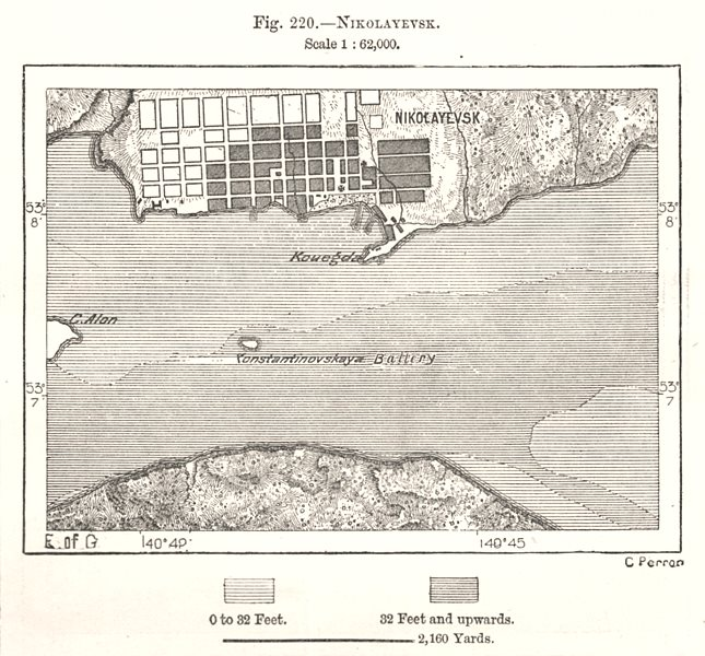 Associate Product Pugachyov town city plan. Russia. Sketch map 1885 old antique chart
