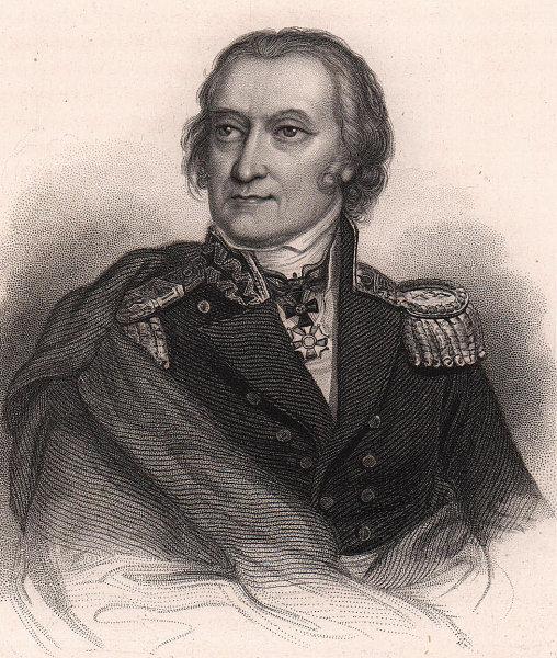 Baron Karol (Charles) Otto Kniaziewicz, leader of the Polish Danube Legion 1839