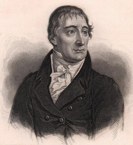 "Wojciech Romuald (""Albert"") Boguslawski. Polish actor 1839 old antique print"