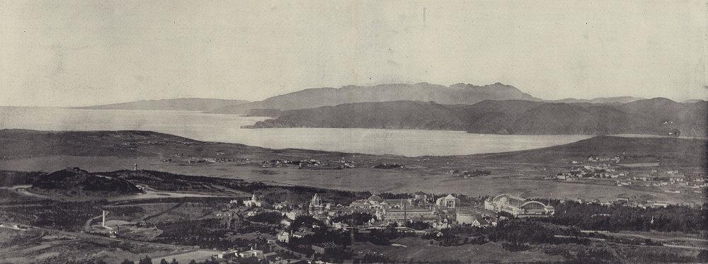 The Golden Gate, San Francisco. California. STODDARD 1895 antique print