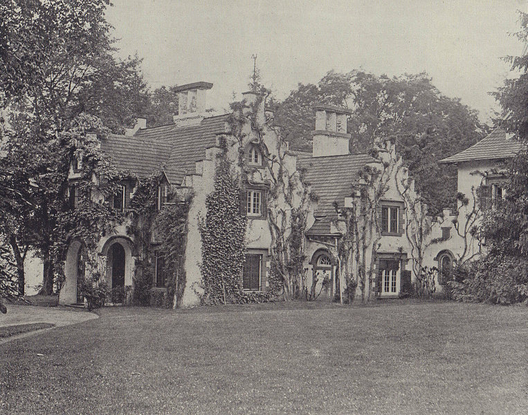 Sunnyside, Home of Washington Irving, near Tarrytown, New York. STODDARD 1895
