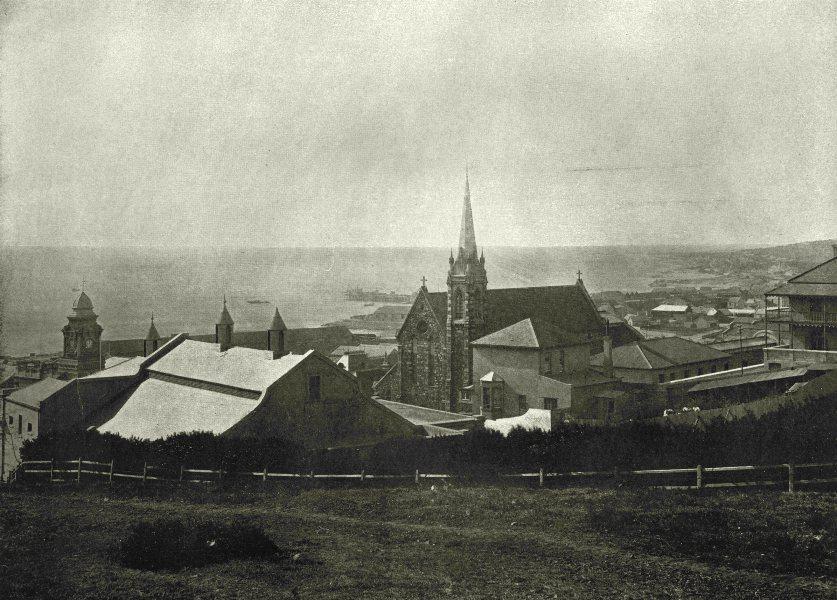 Associate Product SOUTH AFRICA. St Augustine's Roman Catholic church, Port Elizabeth 1899 print