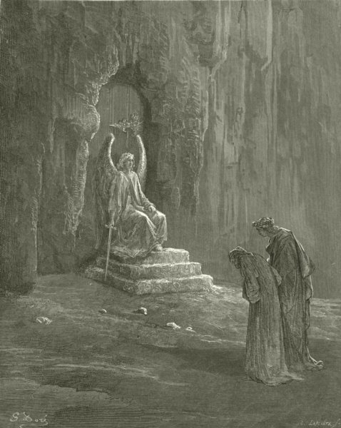Associate Product DANTE. In Visage such, as past my power to bear 1893 old antique print picture