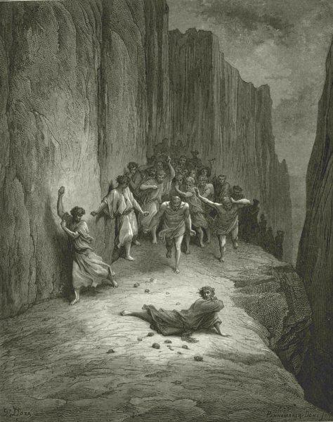 Associate Product DANTE. Post that saw Multitude, fury burning, slay stones stripling youth 1893