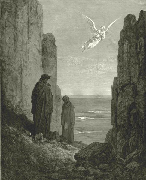Associate Product DANTE. Aileth thee, that still thou Look'st earth? began my leader 1893 print